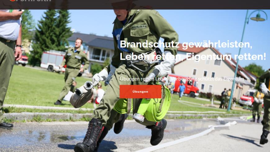 Neue Homepage der FF Fernreith