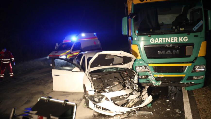 Verkehrsunfall B1 in Gunskirchen
