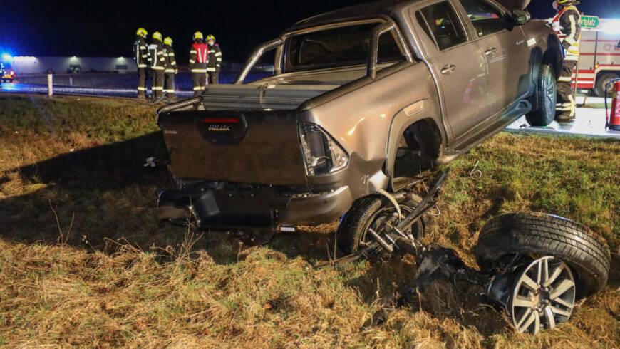 Verkehrsunfall B1