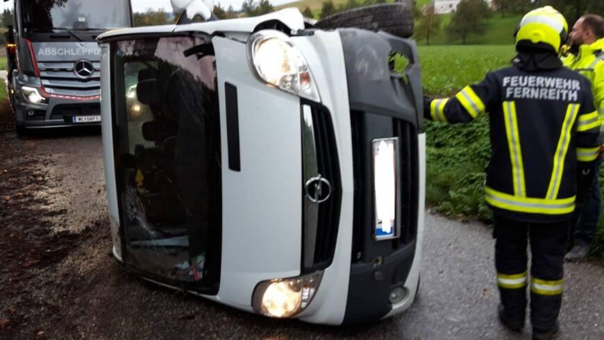 Verkehrsunfall Fernreith